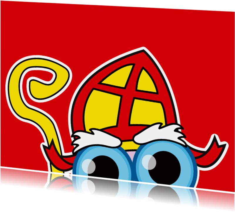Sinterklaaskaarten - Sinterklaaskaart - Sint - MG