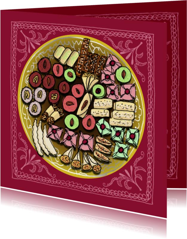Religie kaarten - Smakelijk suikerfeest