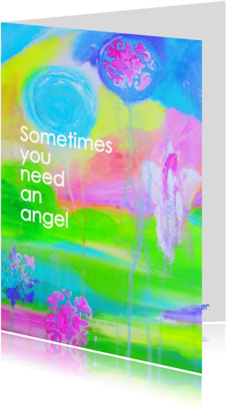 Coachingskaarten - Sometimes you need an angel