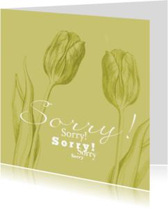 Sorry kaarten - Sorry Sorry Sorry