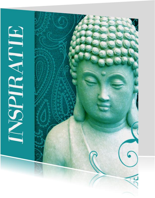 Religie kaarten - Spirituele kaart Boeddha inspiratie