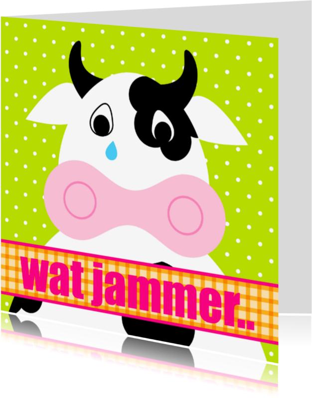 Sterkte kaarten - Sterkte kaart Jammer koe