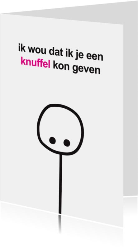 Sterkte kaarten - Sterkte Mimiez Knuffel Geven