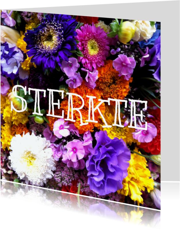 Sterkte kaarten - Sterktekaart bloemen