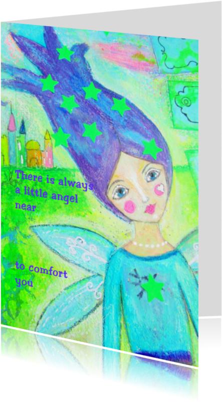 Religie kaarten - There is always a little angel