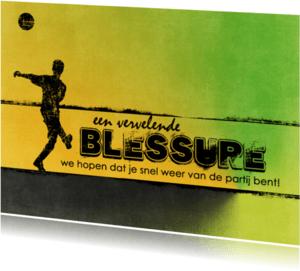 Coachingskaarten - 12039 Coachingskaart Blessure