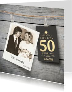 Jubileumkaarten - 50 Jaar jubileum uitnodiging