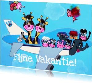 Ansichtkaarten - Anischtkaart Vliegtuig PA