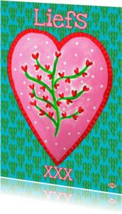 Ansichtkaarten - Ansichtkaart Hart PA