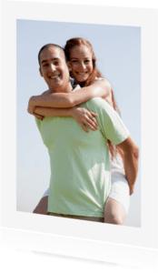 Ansichtkaarten - Ansichtkaart met Foto + Kader