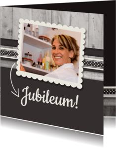Jubileumkaarten - Antraciet Jubileum - BK