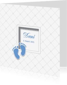 Geboortekaartjes - Babykaartje voetjes - LOVZ