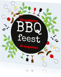 Uitnodigingen - Bbq2