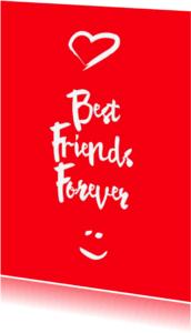 Vriendschap kaarten - Best Friends Forever-isf