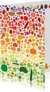 Beterschapskaarten - Beterschap Groente + Fruit