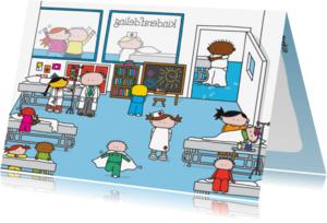 Beterschapskaarten - Beterschap Ziekenhuis Kinderen