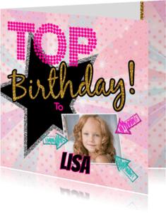Verjaardagskaarten - Birthday hip en stoer