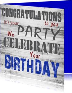 Verjaardagskaarten - birthday-made4you