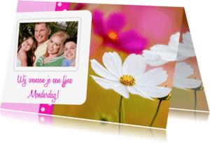 Moederdag kaarten - Bloemenkaart Moederdag - BK