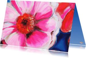 Bloemenkaarten - Bloemkaart Bloemhart PA