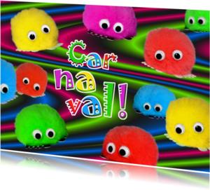 Carnavalskaarten - Carnaval Wuppies