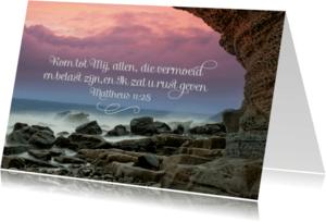 Religie kaarten - Christelijke kaart bijbeltekst