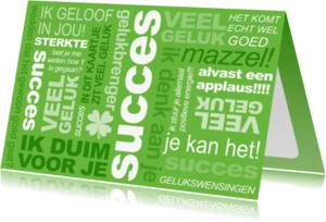 Coachingskaarten - Coaching Tekst Groen