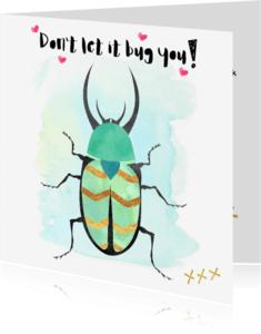 """Coachingskaarten - """"Coachingskaartje don't let it bug you - SD"""""""
