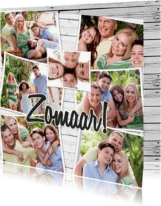 Zomaar kaarten - Collage Zomaar - BK