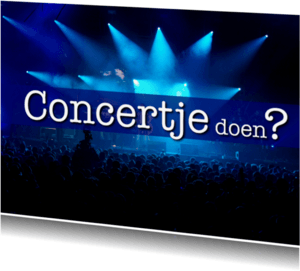 Uitnodigingen - Concert - OTTI