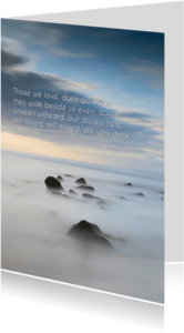 Condoleancekaarten - Condoleance LVII