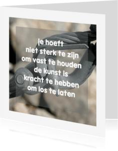 Condoleancekaarten - Condoleance Schakel Kracht - AW