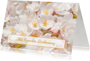 Condoleancekaarten - Condoleancekaart-Sakura