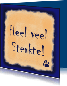 Condoleancekaarten - DierenSterkte