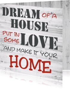 Felicitatiekaarten - dream-home