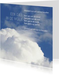Coachingskaarten - Een gat in de wolk