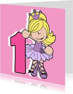 Verjaardagskaarten - Een jarig prinsesje!