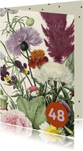 Verjaardagskaarten - Een prachtige verjaardagskaart met aanpasbare leeftijd.