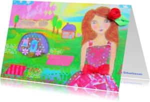 Coachingskaarten - Enjoy life gypsy girl