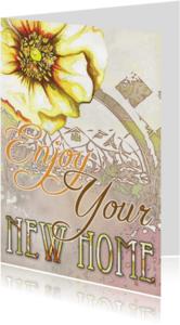 Verhuiskaarten - Enjoy Your New Home