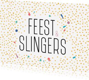 Verjaardagskaarten - Feest & Slingers
