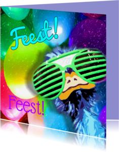 Kinderfeestjes - Feest party struisvogel balonnen