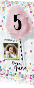 Kinderfeestjes - Feestje meisje glitter confetti - LO
