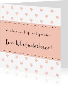 Felicitatiekaarten - Felicitatie Kleindochter - WW