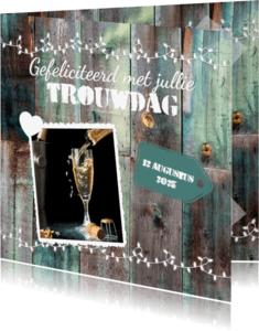 Felicitatiekaarten - Felicitatie trouwdag-isf