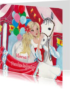 Verjaardagskaarten - Felicitatie verjaardag paard