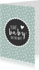 Felicitatiekaarten - Felicitatie - zwanger baby on the way