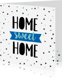 Felicitatiekaarten - Felicitatiekaart Home-pc