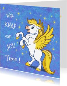 Felicitatiekaarten - Felicitatiekaart paard Florian - A