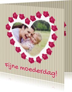 Moederdag kaarten - Fijne moederdag rozen - DH